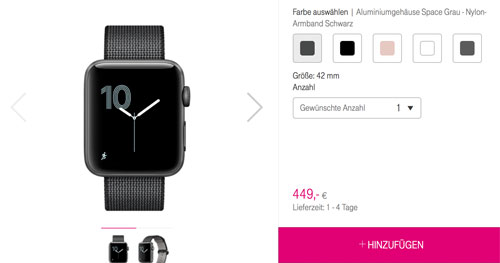 Apple Watch Telekom
