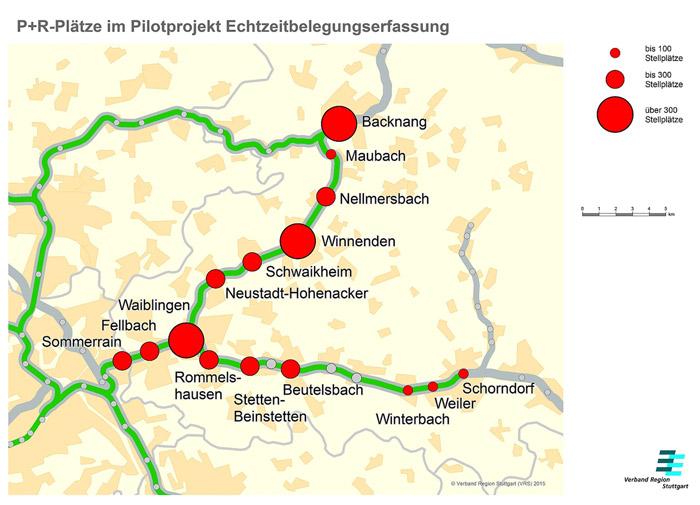 Bosch Parkplatzmanagement Karte