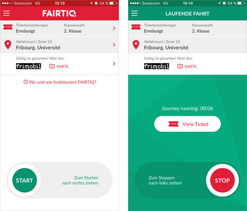 Fairtiq App Screenshot
