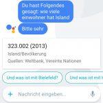 Google Allo Sprach Assistent Deutsch