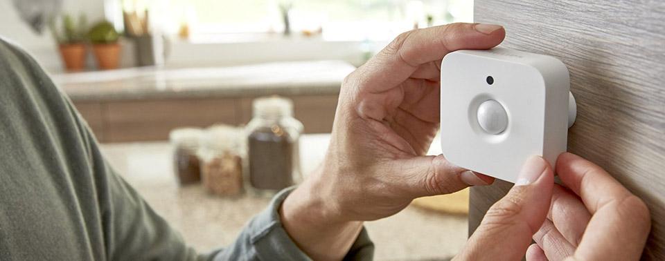 philips hue bewegungsmelder ausprobiert iphone. Black Bedroom Furniture Sets. Home Design Ideas