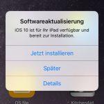 Ios Update Steht Zur Installation Bereit