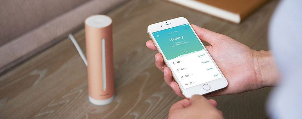 netatmo healthy home coach homekit wetterstation ohne wetter iphone. Black Bedroom Furniture Sets. Home Design Ideas