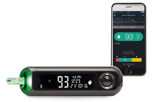 Neues Contour Next One Blutzuckermesssystem Kombiniert Blutzuckermessgeraet Und Mobile A