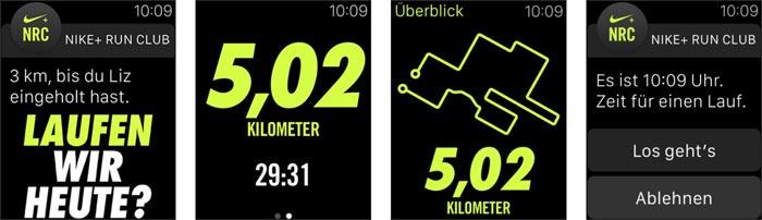 Nike Run Club App Apple Watch