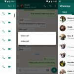 Whatsapp Videotelefonate