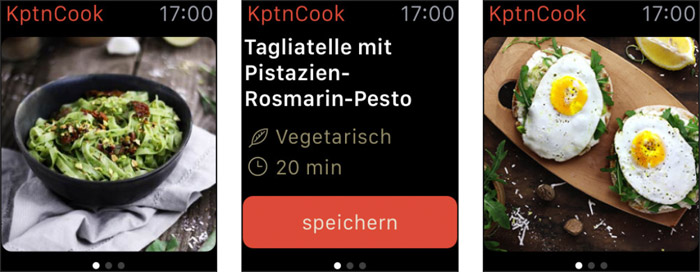 Kptncook Iphone App