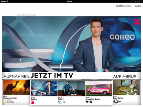 Neue Vodafone Tv App