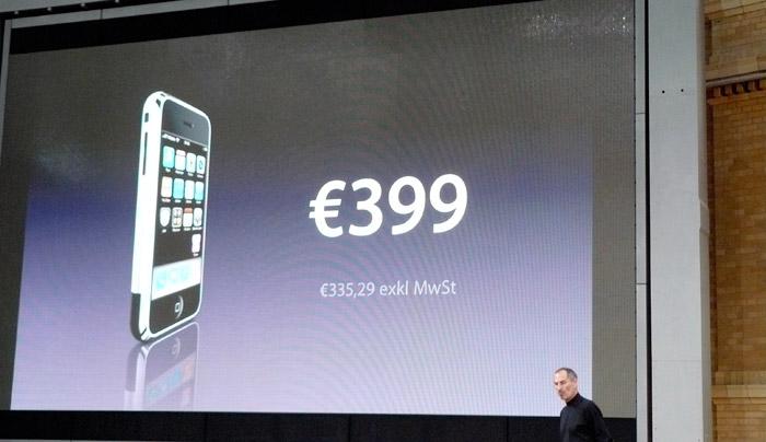 Steve Jobs Iphone Deutschland Verkaufsstart