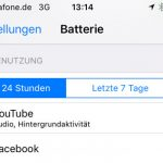 Youtube App Leert Iphone Akku
