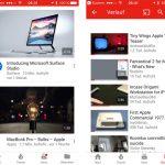 Youtube App Statusleiste Anzeige