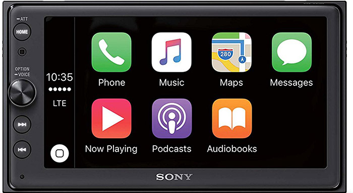 Sony Xav Ax100 Carplay Receiver