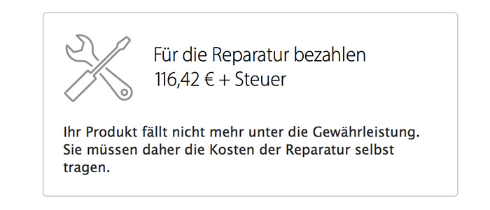 Apple Iphone Akku Reparatur Kosten
