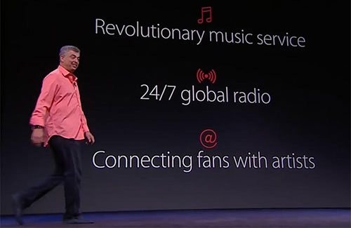 Apple Music Eddy Cue