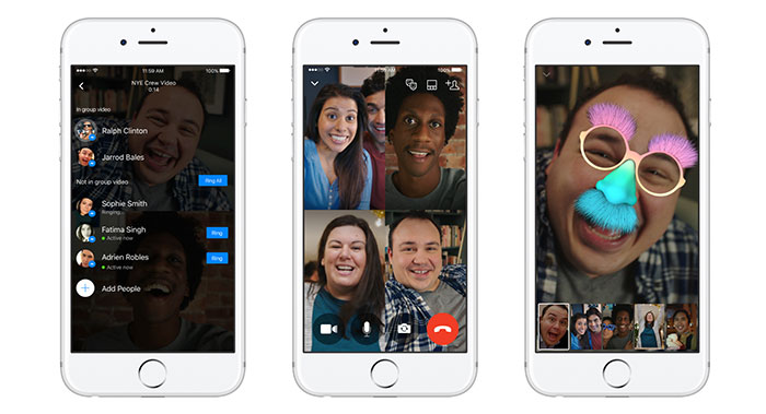Facebook Gruppen Video Chats