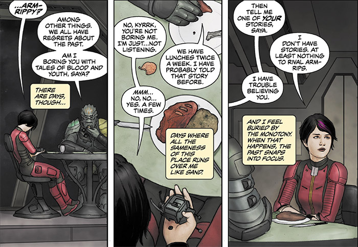 Galaxy On Fire Comic