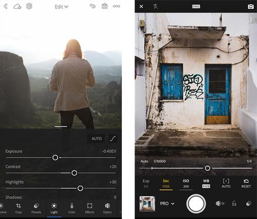 Lightroom Iphone App