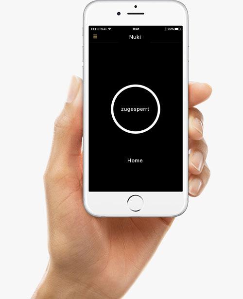 Nuki Iphone App