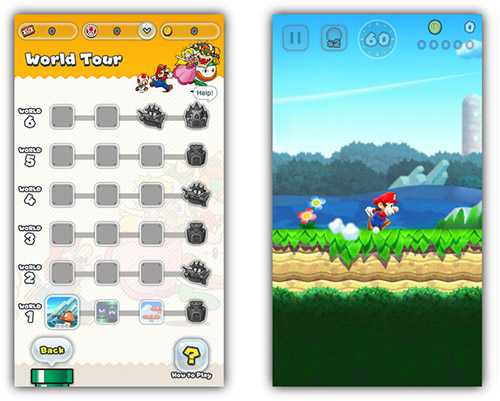 Super Mario Run Screenshots
