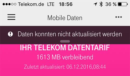 Telekom Testsieger Aktion Fehler