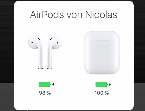 Airpods Ladebild