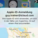 Apple Anmeldung