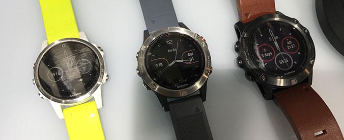 Garmin Fenix 5 Modelle