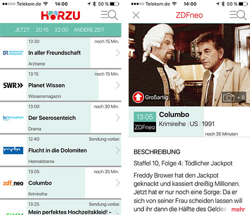 Hoerzu Iphone App