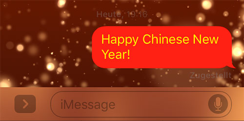 Imessage Chinese New Year
