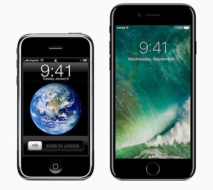 Iphon 1 Iphone 7