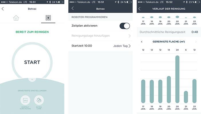 Neato Botvac App