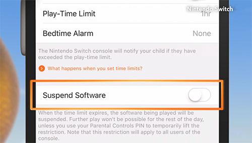 Nintendo Switch Eltern App