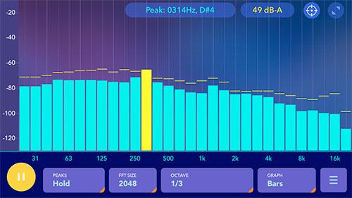 Schallpegel Analyse App