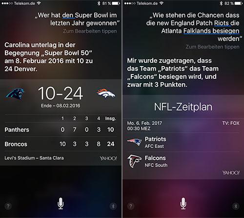 Siri Super Bowl