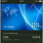 Apple Pay Transaktion