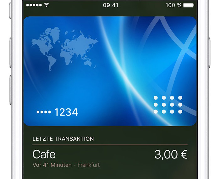 Apple Pay Transaktion