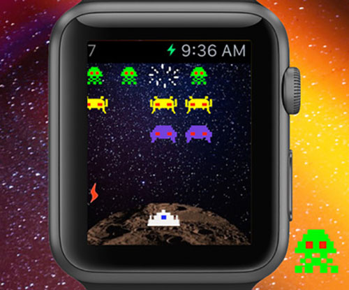 Apple Watch Invaders