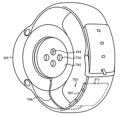 Apple Watch Ladegeraet Apple Patent