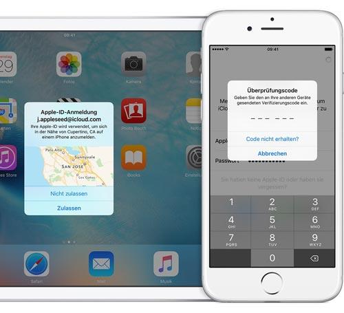 Apple Zwei Faktor Authentifizierung Code
