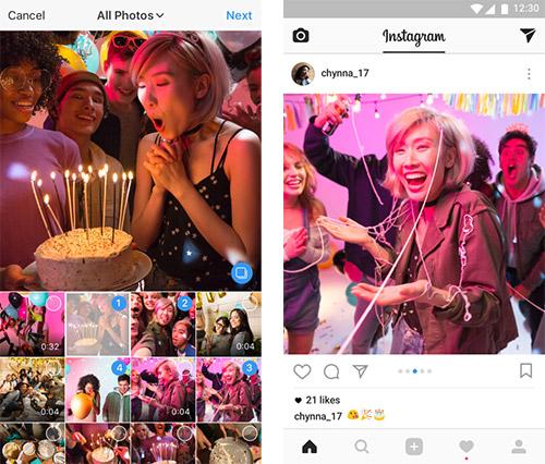 Instagram Bis Zu 10 Bilder