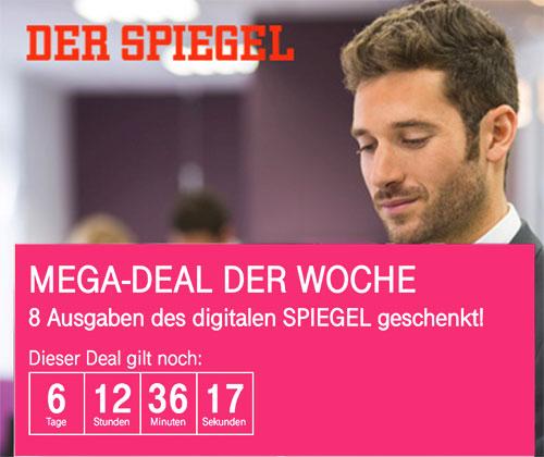 Megadeal Spiegel