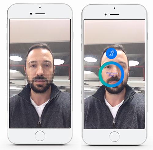 Realface 500 Gesichtserkennung Apple