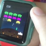 Space Invaders Apple Watch