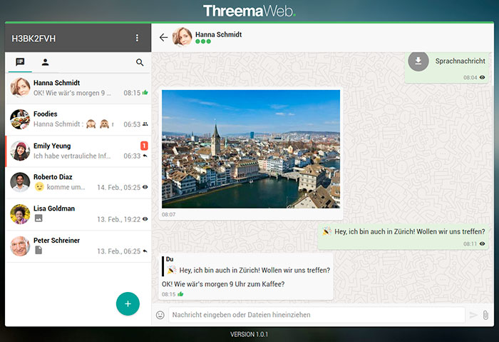 Threema Web 700