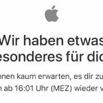 Besonderes Apple Store