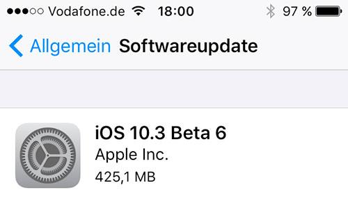 Beta 6 Ios 10 3