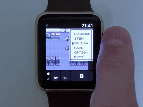 Giovanni Game Boy Emulator Apple Watch