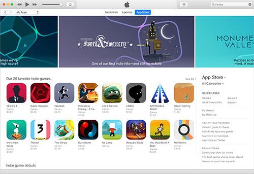 Indie Games App Store