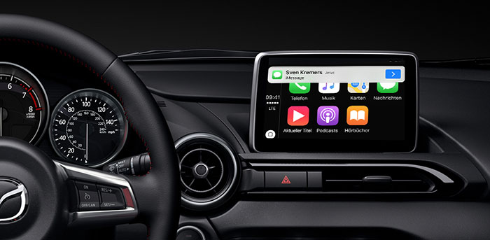 Mazda Will Carplay Auch Fur Altere Modelle Anbieten Iphone Ticker De