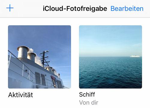 Schiff Fotofreigabe
